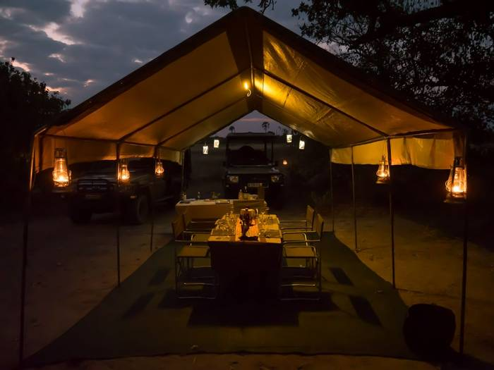 Camp Dining Tent (Letaka Safaris)