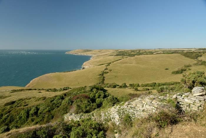 Coastal footpath between Durlston and Dancing Ledge in Dorset shutterstock_1539904847.jpg