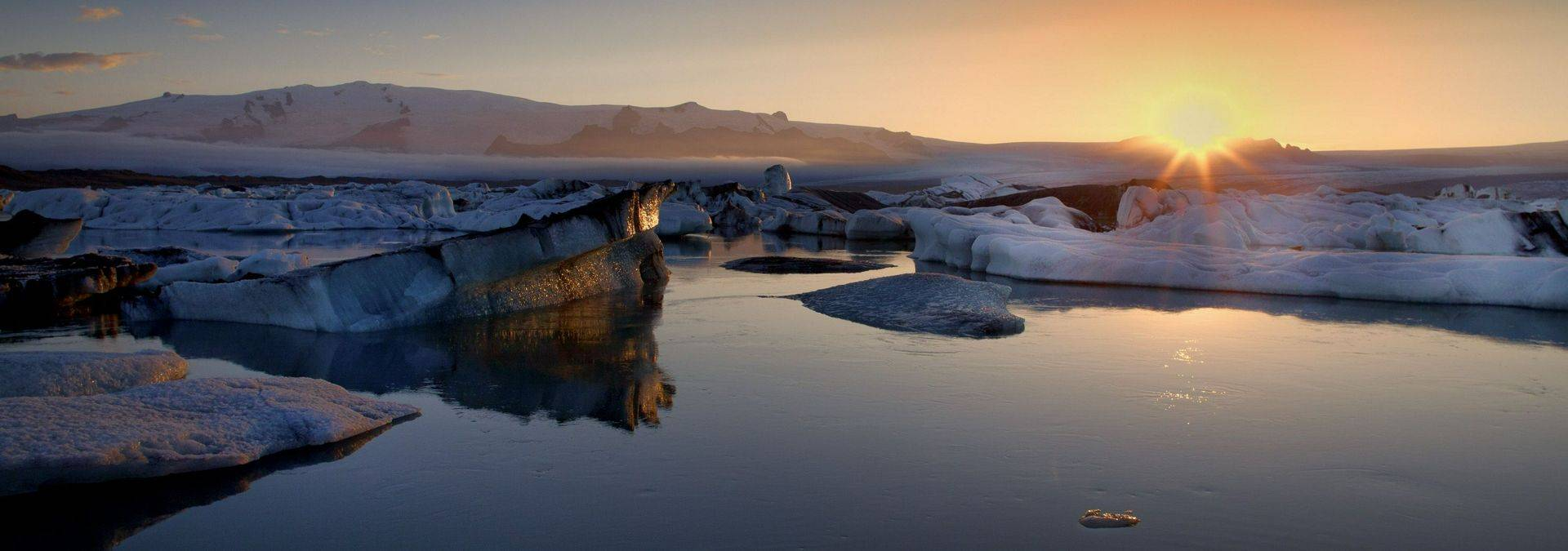 Sunset, South Shore, Iceland, Credit - Iceland Pro Travel
