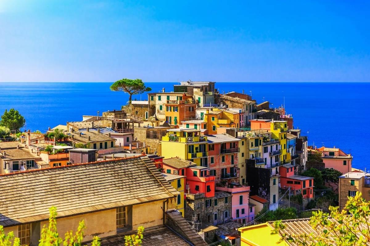 Cinque Terre, Corniglia. Italy
