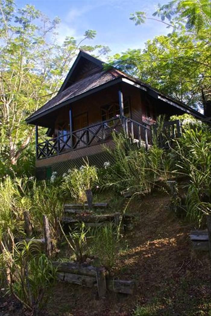 Outside of Room Sepilok Nature Resort (Dani Free)