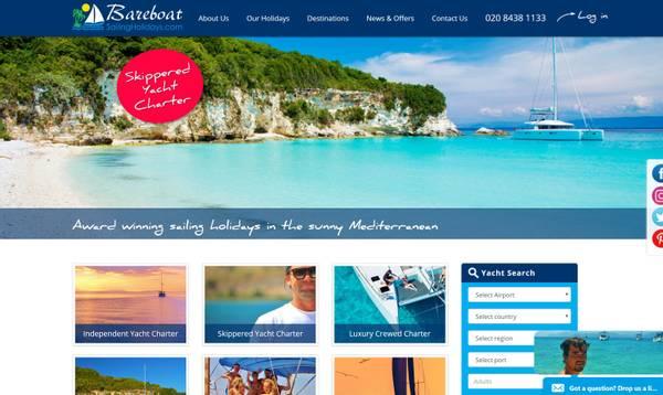 Bareboat Sailing Holidays