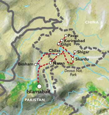 ISLAMABAD to ISLAMABAD (15 days) Karakorum Highlights
