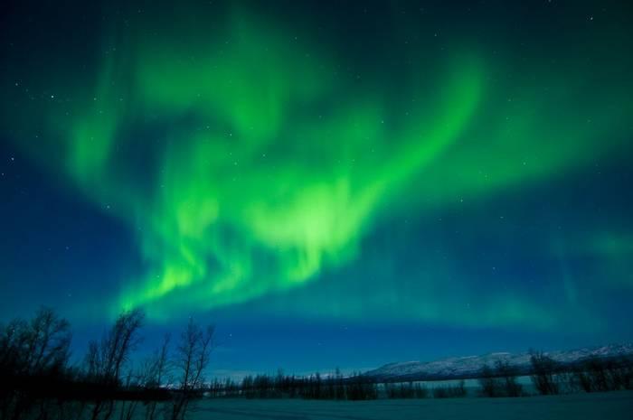 Aurora Borealis, Lapland, Sweden shutterstock_162863324.jpg