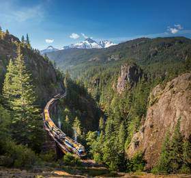 Vancouver - Rocky Mountaineer Rail Journey and Kamloops Hotel Stay