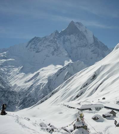 Annapurna Base Camp at 4,100m