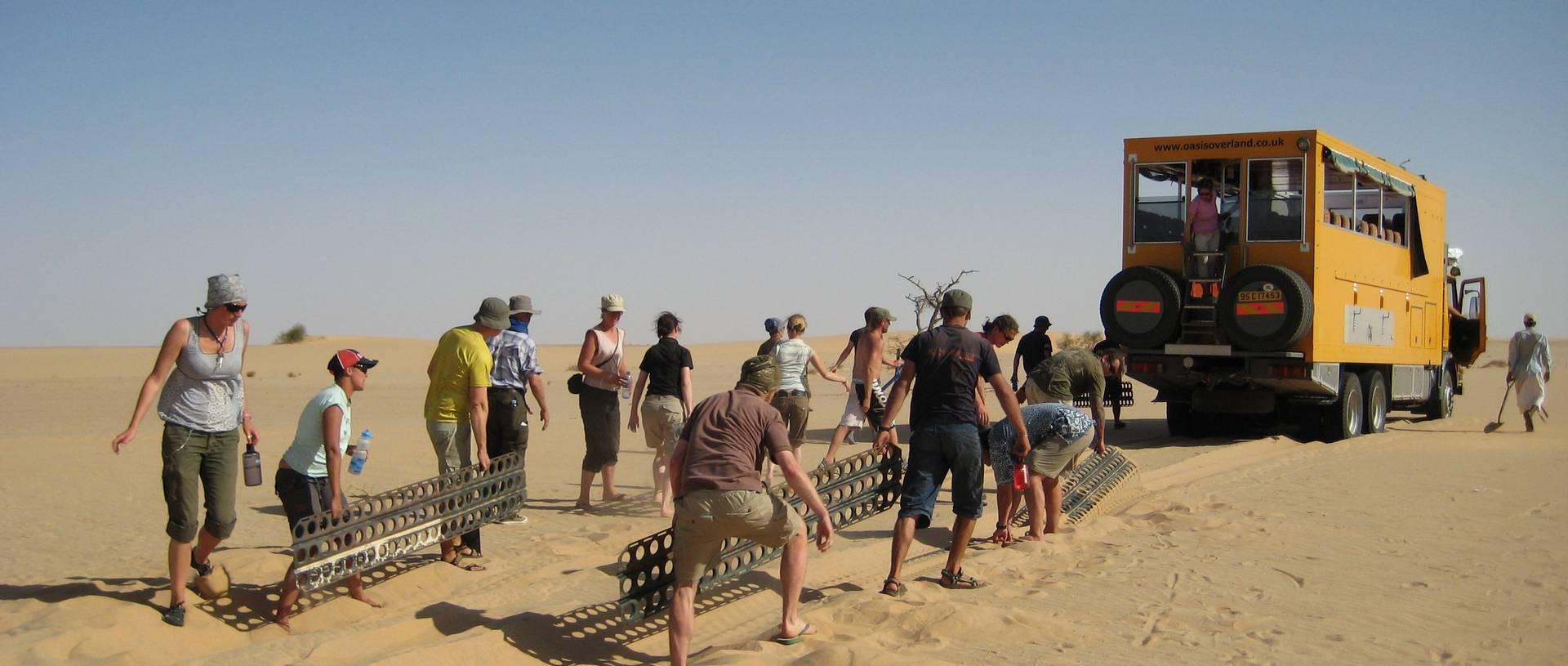Sandmatting Through The Nubian Desert