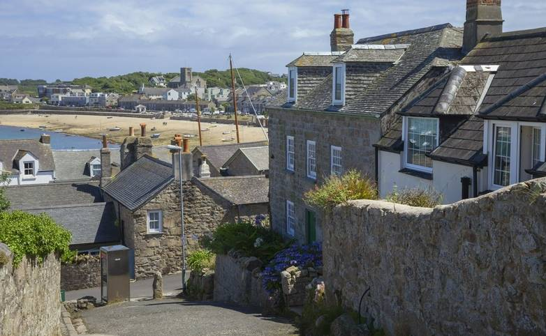 Hugh Town, St Mary's, Isles of Scilly, England