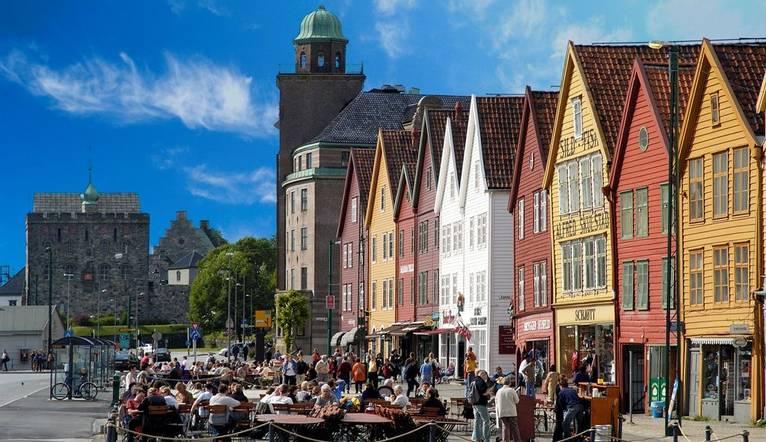 Colourful Bergen