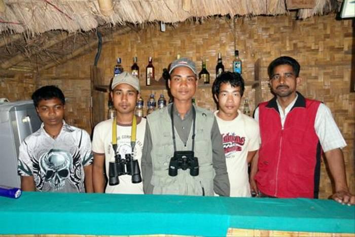 Suklaphanta Camp staff (David Smallshire)