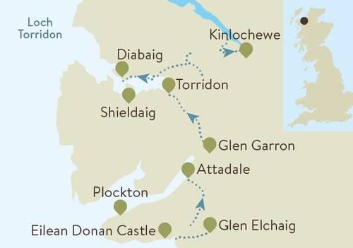 Torridon Map