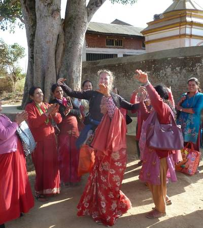 Dancing in Baltali village