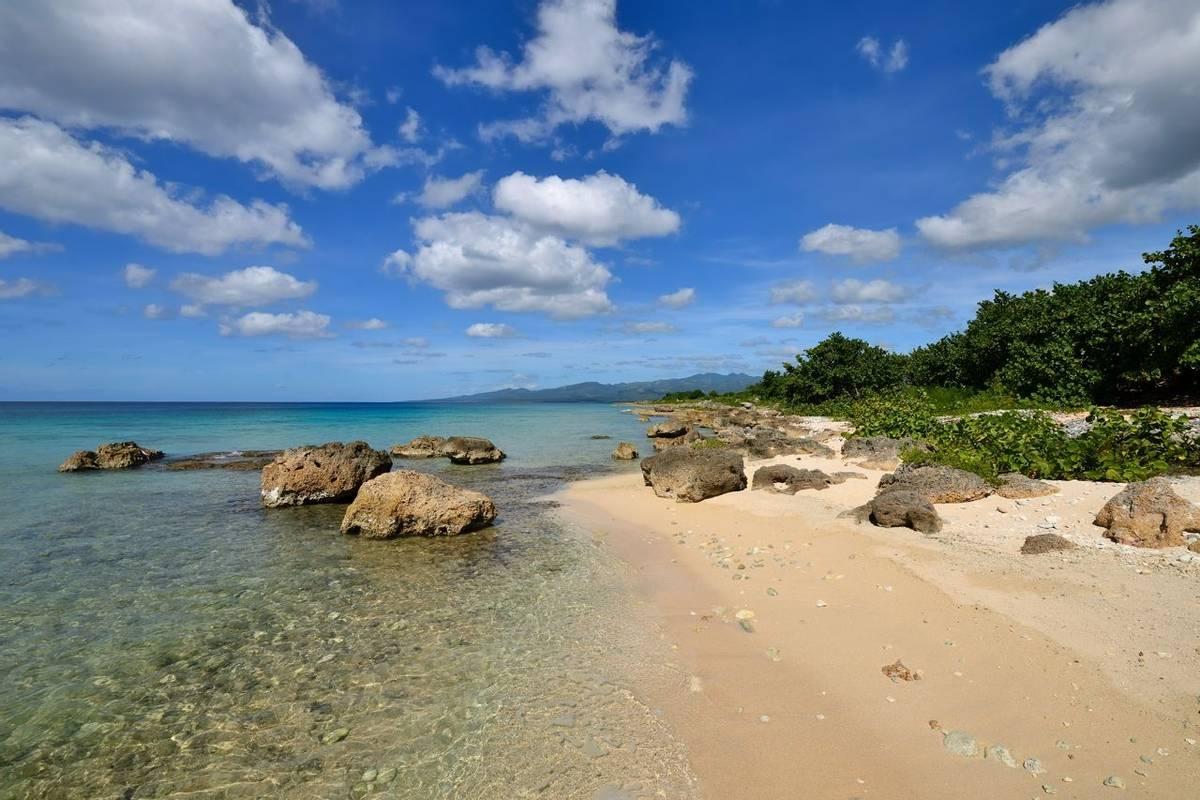 Sand beaches in Cuba