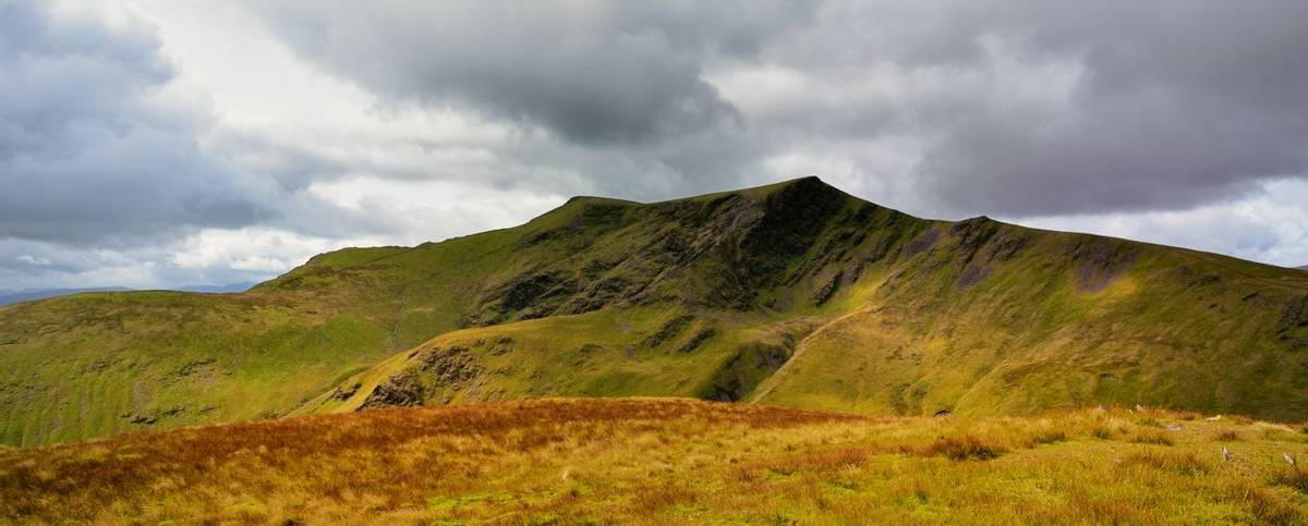 Blencathra from Bannerdale Crags