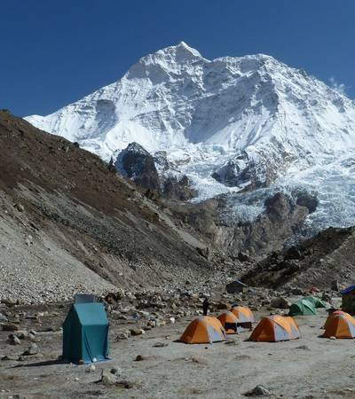 Makalu Base Camp trek in Nepal