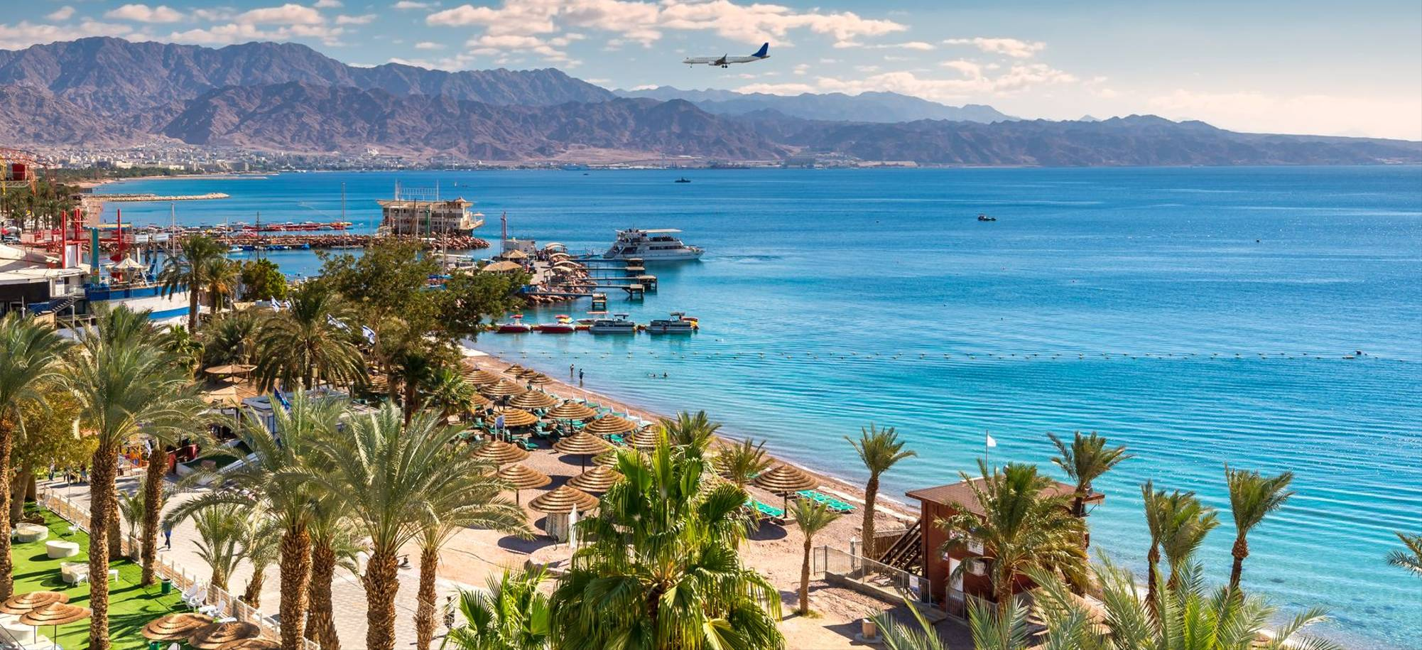 Aqaba   Central Public Beach And Marina In Eilat   Itinerary Desktop
