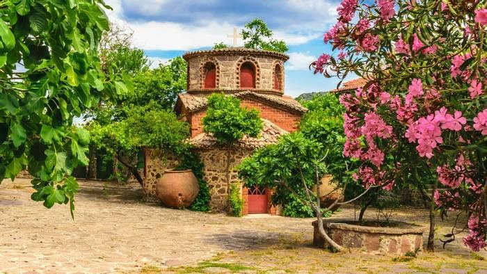 A Chapel in the Moni Limonos Monastery, Lesbos shutterstock_661520971.jpg