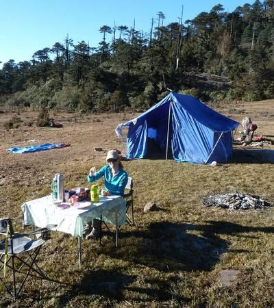 Tshokam camp