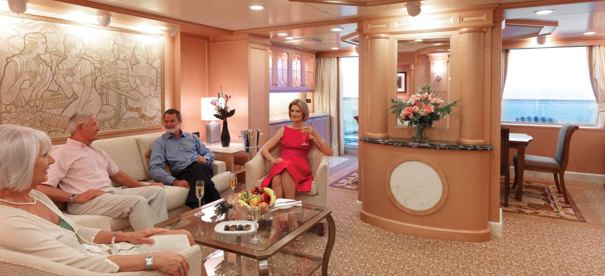 At Sea   Relaxing In The Comfort Of A Grand Suite   Itinerary Desktop