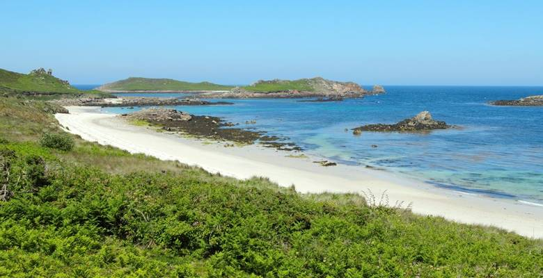 Isles of Scilly guided walking holiday