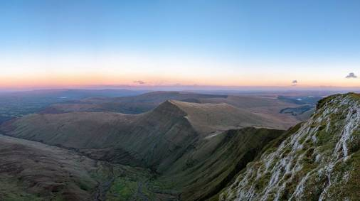 3-Night Brecon Beacons Festive Guided Walking Holiday