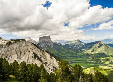 France - The Vercors (by air)