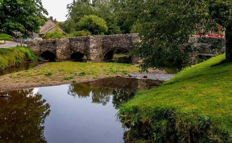 The Old Bridge - Clun Shropshire England