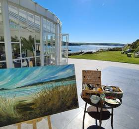 Exclusive artist experience at the Burgh Island Hotel