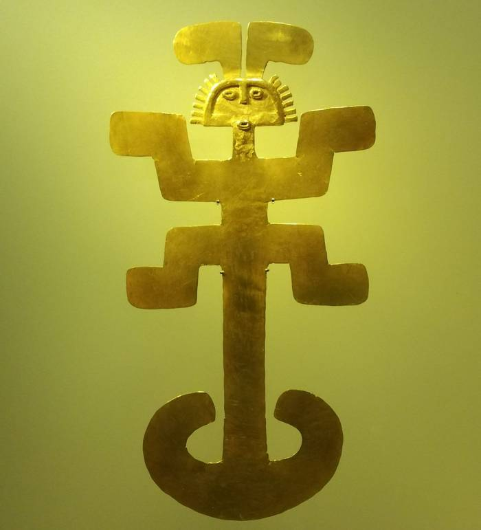 Artifact From The Gold Museum, Bogota (Robin Smith)