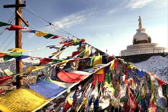 Stupa in Ladakh