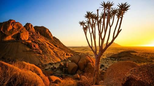 Namibia and Botswana guided Walking Holiday