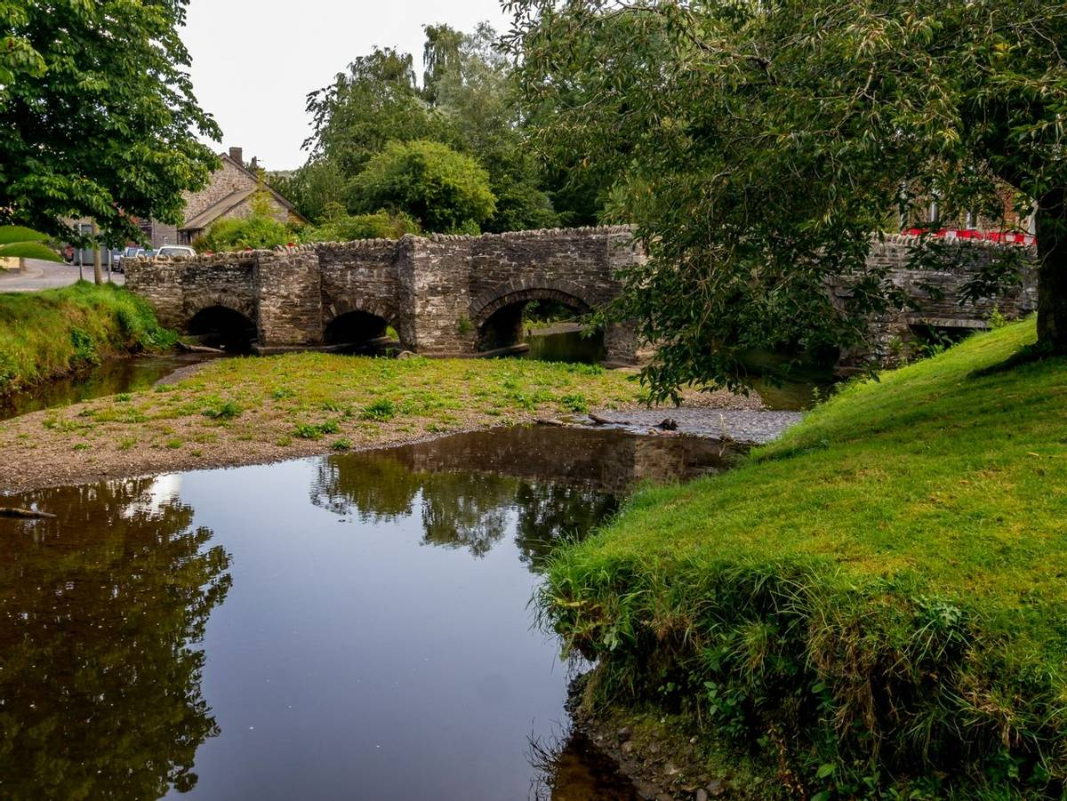 The Old Bridge - Clun Shropshire England