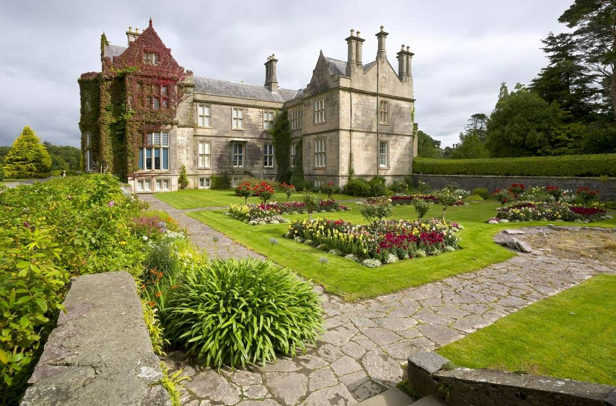 Muckross House and gardens in National Park Killarney, Ireland