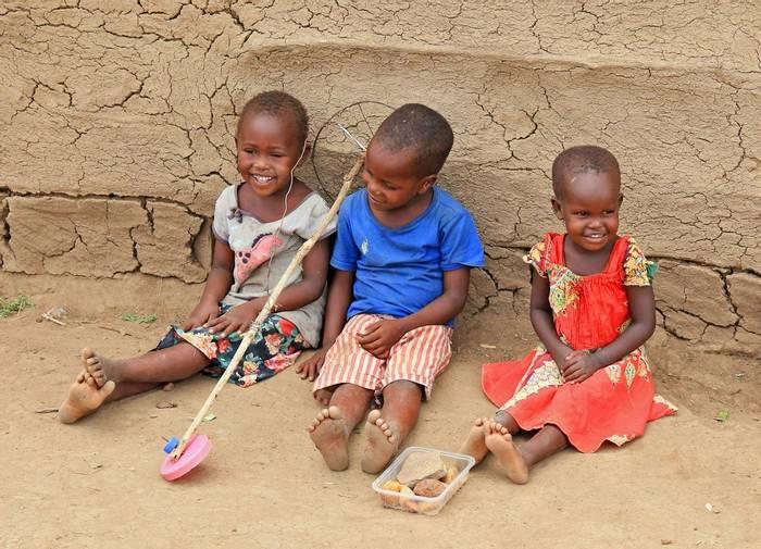 Masai Children (Gary Margetts)
