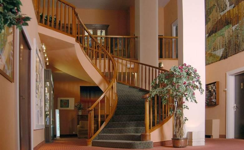 France - Villa Borghese - Main Hall Staircase.JPG