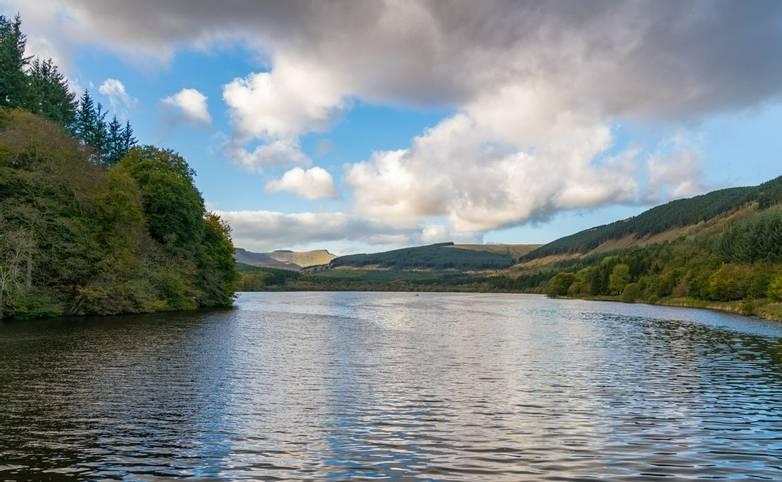Pentwyn Reservoir, Wales, UK