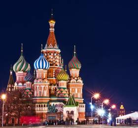 Moscow and Red Square