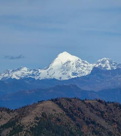 View of Mount Chomolhari