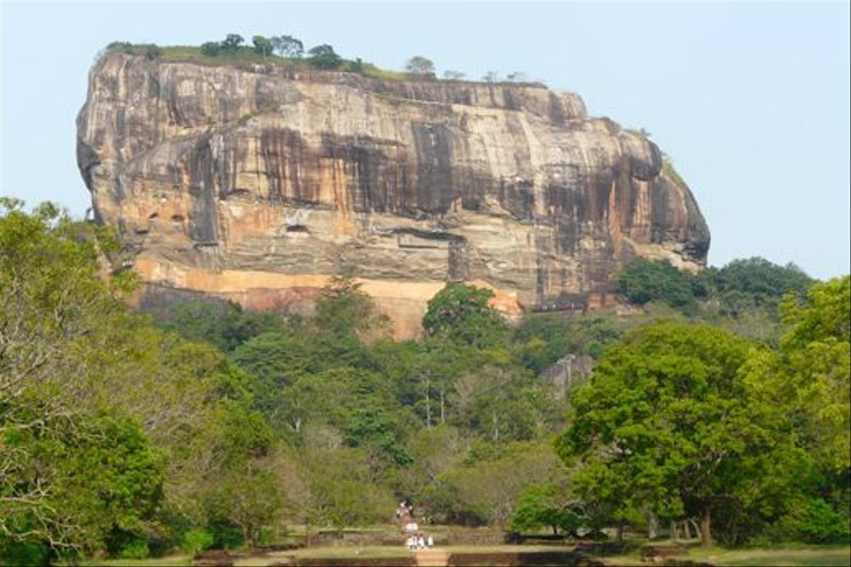 Sigiriya rock fortress (Rajan Jolly)