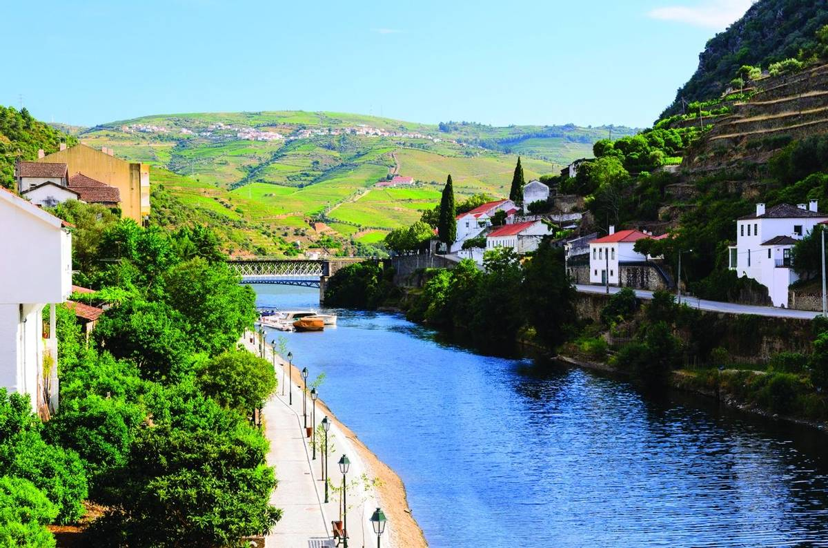 river Douro valley, Portugal