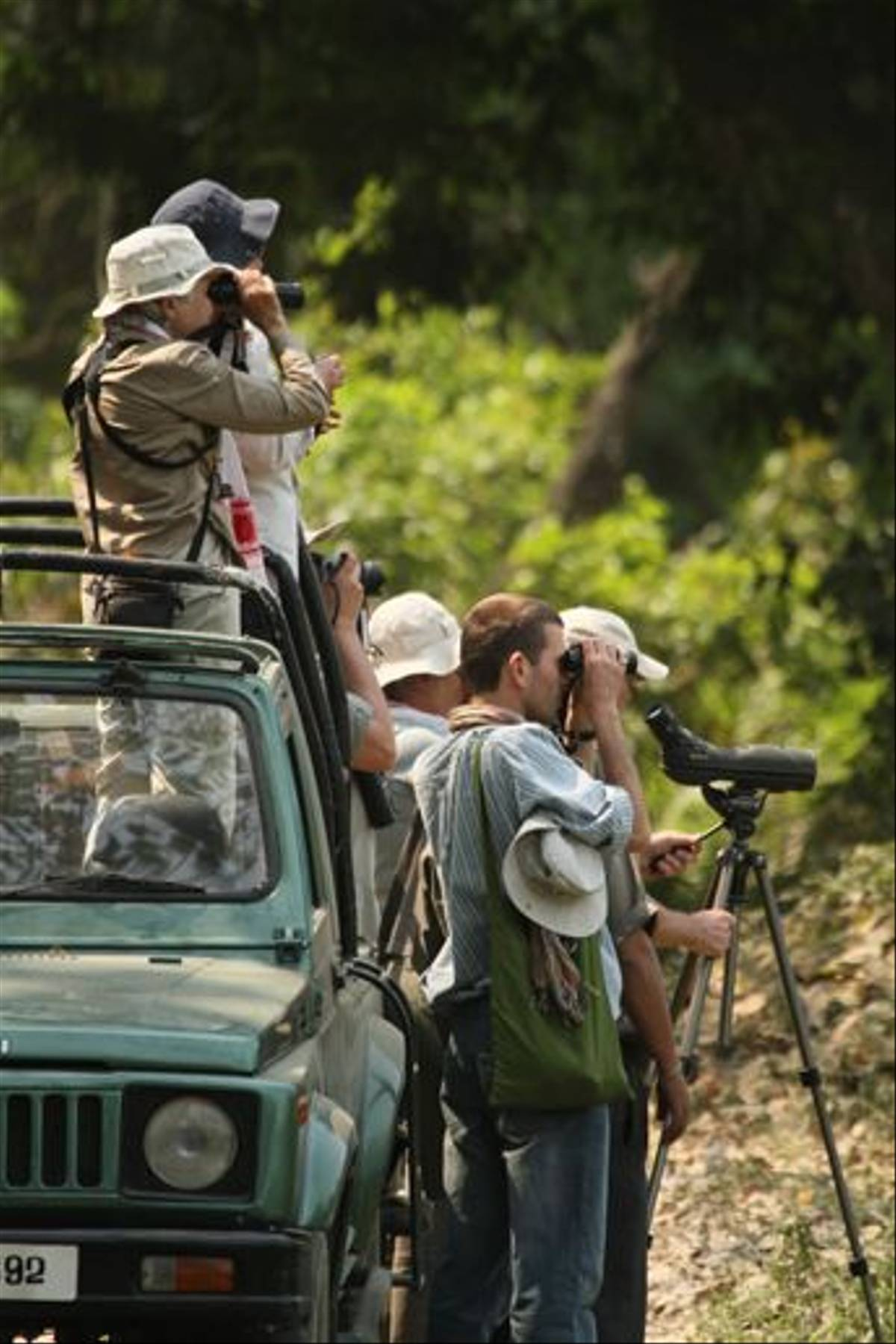 Naturetrek group in Kaziranga (Bret Charman)