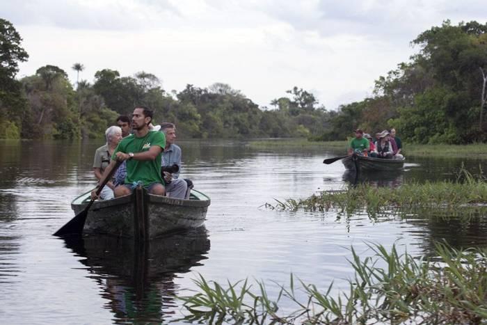 Exploring the Amazon River (Lee Morgan)