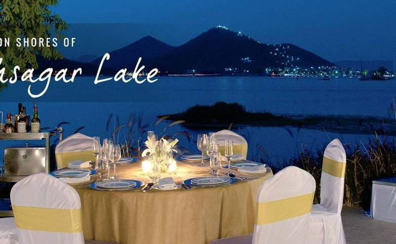Rajasthan - Lake End - Lake side  dining.jpg