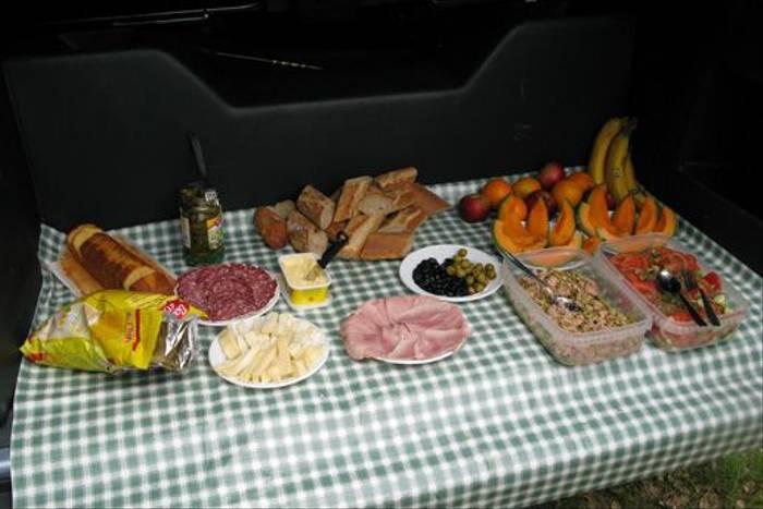 Naturetrek picnic lunch