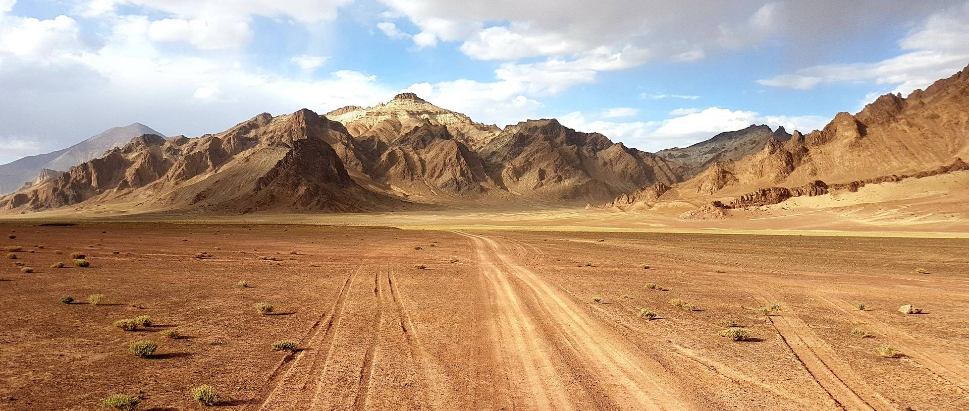 Stunning Views On Pamir Highway, Driving Through Tajikistan