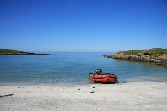 Ashore the Monach Isles