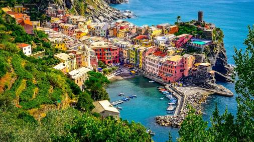 14-Night Cinque Terre & Tuscany Guided Walking Holiday