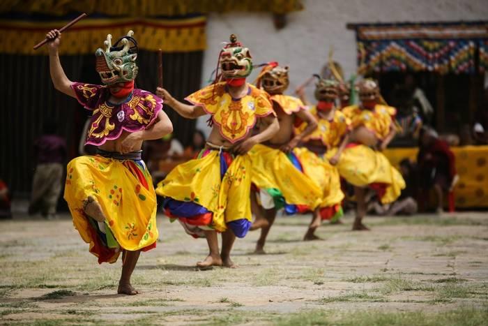 Masked dancer, Bhutan shutterstock_273612779.jpg