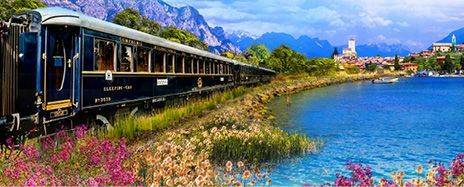 No-Fly Trio of Italian Lakes & Luxury Rail Journey
