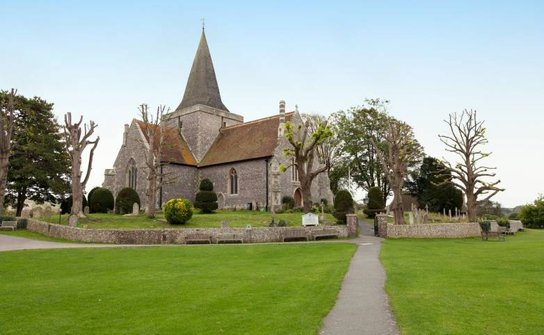 St. Andrew's Church in Alfriston, England